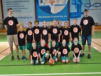 Basket - turnaj Blansko 2018