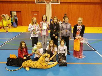 Dívky U12 vezou hezký výsledek z Bruntálu