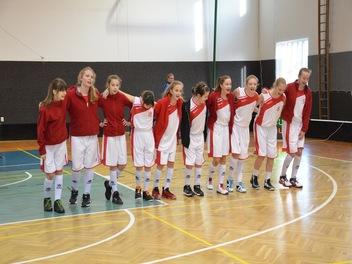 Dívky vs Prostějov 31. 1. 2016
