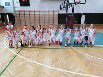 6. a 7. kolo ligy mladších žákyň U14 – mlata jako Brno