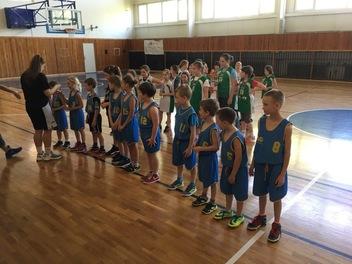 Basket - U9 Ostrava 21. 4. 2018