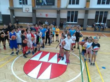 Basket - vánoční trénink 18. 12. 2018