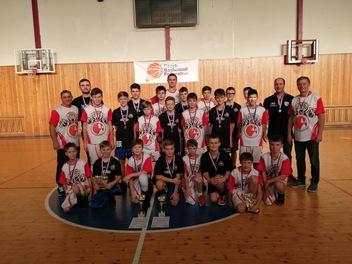 Mladí basketbalisté TJ MEZ Mohelnice jsou zlatí