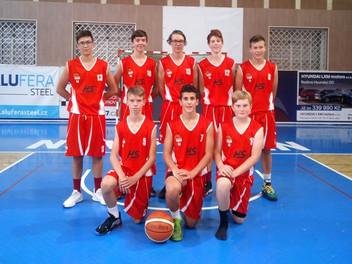 U15 základní část regionální ligy, skupina F